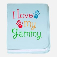 I Love My Gammy baby blanket