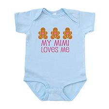 Mimi Loves Me cute Infant Bodysuit