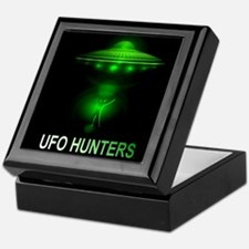 ufo hunters Keepsake Box