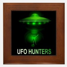 ufo hunters Framed Tile