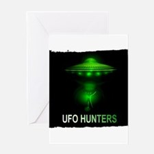 ufo hunters Greeting Card