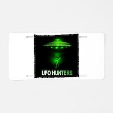 ufo hunters Aluminum License Plate