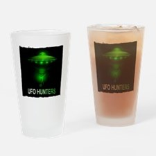 ufo hunters Drinking Glass