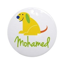 Mohamed Loves Puppies Ornament (Round)