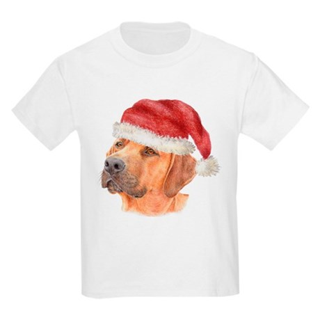 Christmas Rhodesian Ridgeback Kids T-Shirt