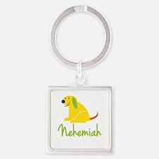 Nehemiah Loves Puppies Keychains