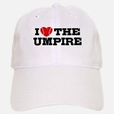 I Love The Umpire Baseball Baseball Cap