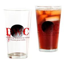 DWC Logo Tagline Drinking Glass