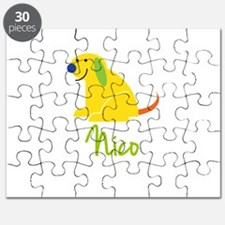 Nico Loves Puppies Puzzle