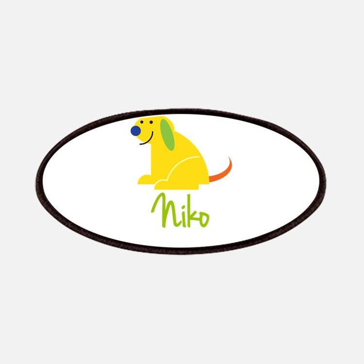 Niko Loves Puppies Patches