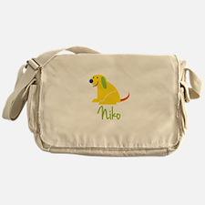 Niko Loves Puppies Messenger Bag