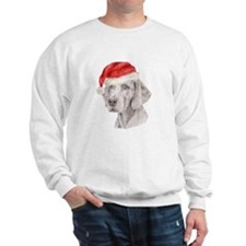 Christmas Weimaraner Sweatshirt