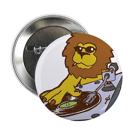 "lion dj mix 2.25"" Button"
