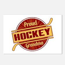 Proud Hockey Grandma Postcards (Package of 8)