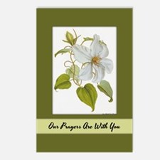 Prayers Are With You Postcards (Package of 8)
