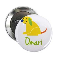 """Omari Loves Puppies 2.25"""" Button (10 pack)"""