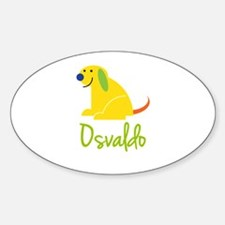 Osvaldo Loves Puppies Decal