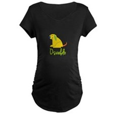 Osvaldo Loves Puppies Maternity T-Shirt