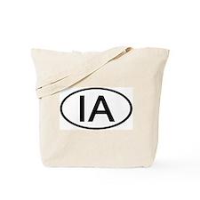 IA Oval - Iowa Tote Bag