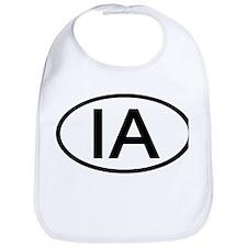 IA Oval - Iowa Bib