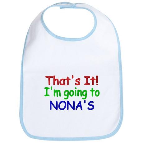 Thats it! Im going to NONAS Bib