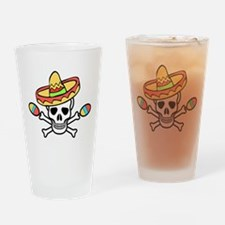 Death Rattle Drinking Glass
