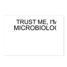 Trust Me, Im A Microbiologist Postcards (Package o
