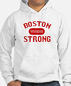 Boston Wicked Strong - Red Hoodie