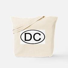 DC Oval - Washington DC Tote Bag