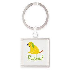 Rashad Loves Puppies Keychains
