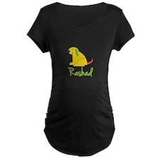 Rashad Loves Puppies Maternity T-Shirt