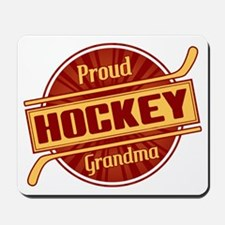 Proud Hockey Grandma Mousepad