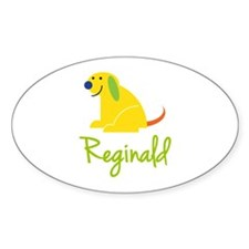 Reginald Loves Puppies Decal