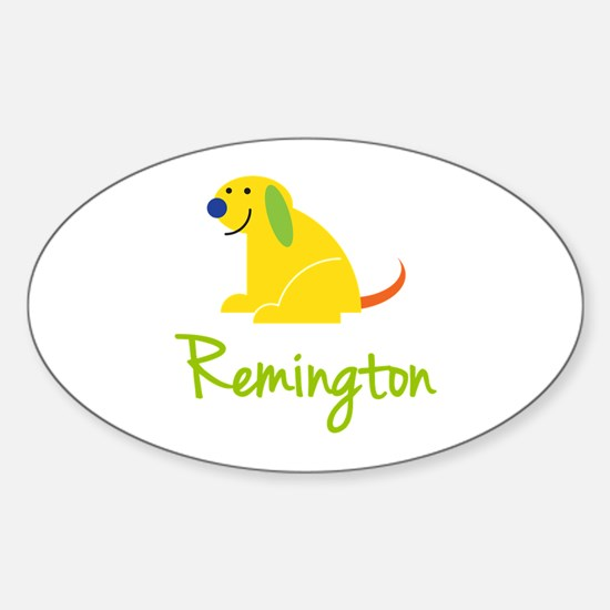 Remington Loves Puppies Decal