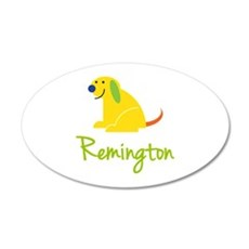 Remington Loves Puppies Wall Decal