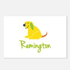 Remington Loves Puppies Postcards (Package of 8)
