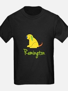 Remington Loves Puppies T-Shirt