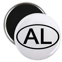 AL Oval - Alabama 2.25