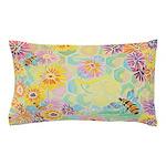 """Bumble Bee Paradise"" Pillow Case"