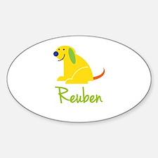 Reuben Loves Puppies Decal