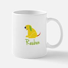 Reuben Loves Puppies Mug