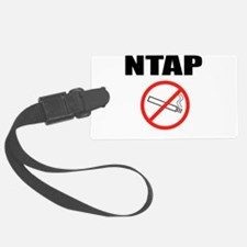 NTAP NEVER TAKE ANOTHER PUFF NO SMOKING Luggage Ta
