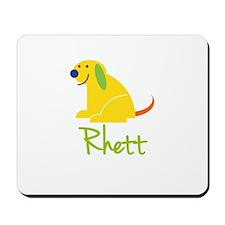 Rhett Loves Puppies Mousepad