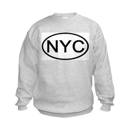 NYC Oval - New York City Kids Sweatshirt