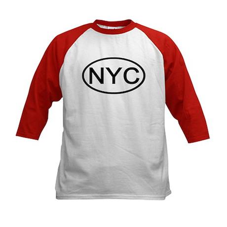 NYC Oval - New York City Kids Baseball Jersey