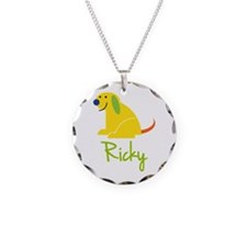 Ricky Loves Puppies Necklace