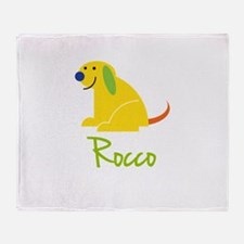 Rocco Loves Puppies Throw Blanket