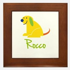 Rocco Loves Puppies Framed Tile