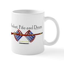 Musket, Fife and Drum Mug