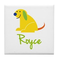 Royce Loves Puppies Tile Coaster